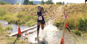 The Meeker High School cross-country team traveled to Crown Mountain Park in Basalt on Saturday for the team's opening meet. For the girls, senior Julia Eskelson finished strong, just beating a competitor for eighth place in 22:05. Briar Meszaros started her sophomore season with a 25:41, good for 52nd out of 86 runners.