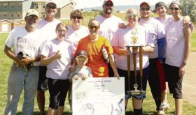 Coed softball league crowns new champion
