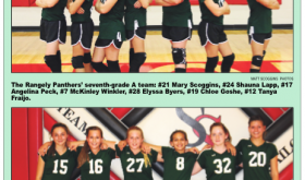 Rangely Junior High Volleyball …