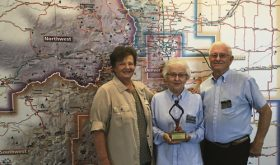 Rangely's Tom and Dorothy Collins receive state award