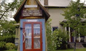 Treehouse Little Free Library…