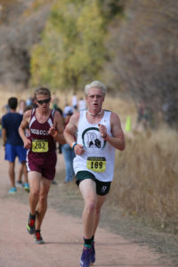 Scoggins took third place at the Colorado State Championship Cross Country meet with a time of 16:57.93.