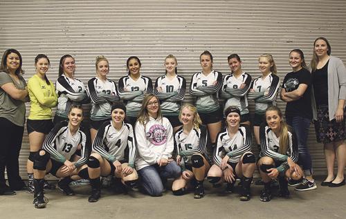 b phrg vball team