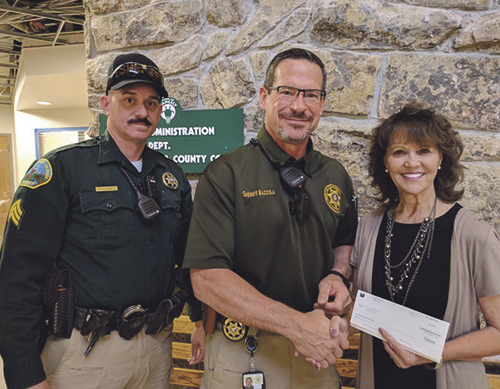 phMKChevronDonation to Sheriff's Office