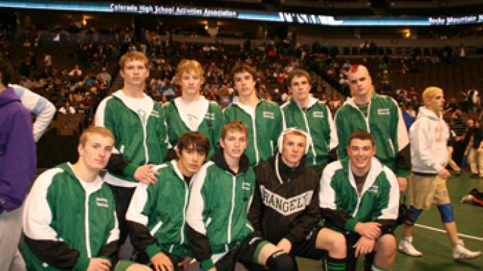 Rangely state qualifiers, back row from left: Travis Witherell, Devon Rose, Blake Wanstedt, Logan Osborne and Bo Armstrong. Front row from left: Cole Barlow, JC Chumacero, Chad Petersen, Keane Raley and Kindal Cushman. Not pictured Mike Dillon.