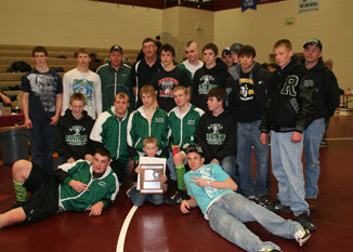 bobby gutierrez Rangely's wrestling team finished second at last weekend's regional tournament in Palisade and qualified 11 individuals for this week's state wrestling tournament in Denver.