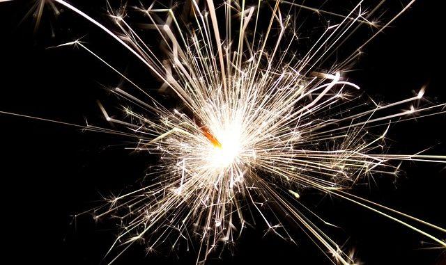 sparkler july fourth fireworks safety